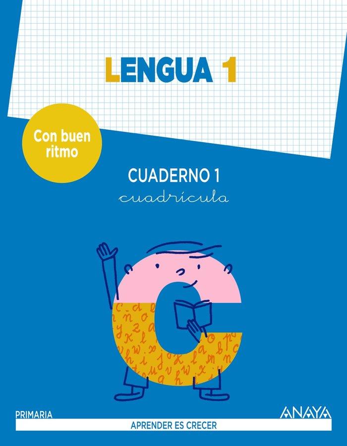 Cuaderno lengua 1 1ºep mec cuadric.14 con buen r.