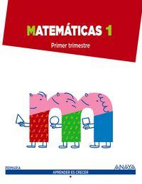 Matematicas 1ºep madrid 14 aprender es crecer