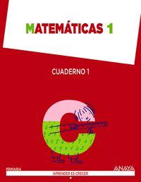 Cuaderno matematicas 1 1ºep madrid 14