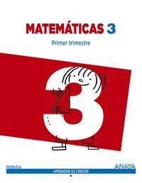 Matematicas 3ºep trim. 14 madrid