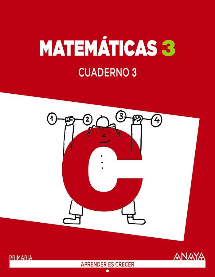 Cuaderno matematicas 3 3ºep madrid 14 apr.crecer