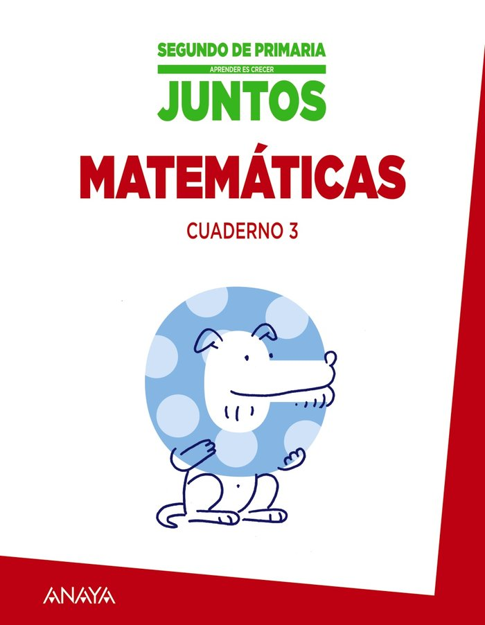 Cuaderno matematicas 3 2ºep mec 15 aprender cr.j.