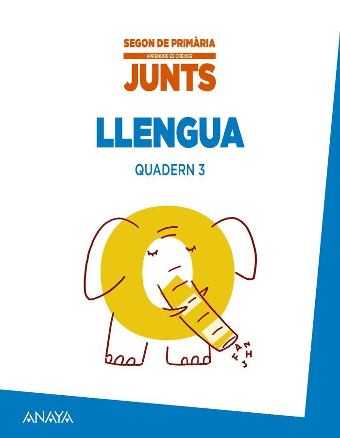 Aprendre es creixer junts 2n. quadern de llengua 3