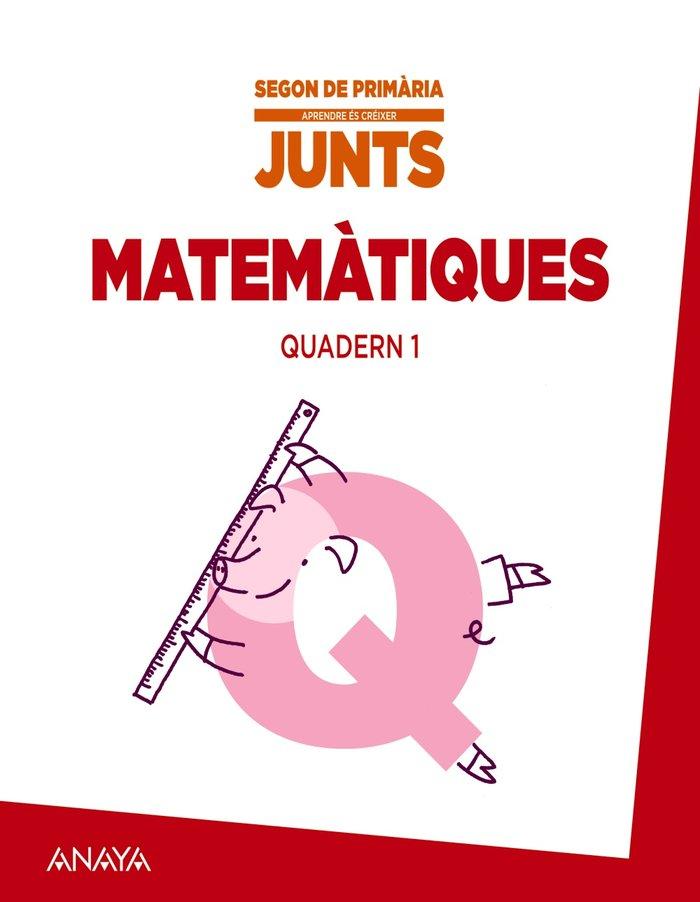 Aprendre es creixer junts 2n. quadern de matematiq
