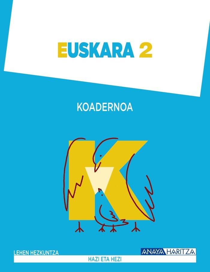 Euskara 2. koadernoa