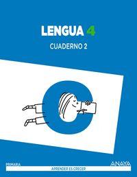 Cuaderno lengua 2 4ºep mec 15