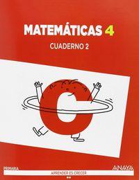 Cuaderno matematicas 2 4ºep c.mancha 15