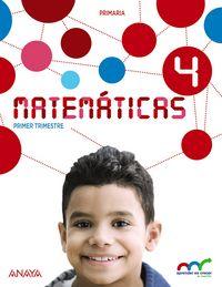 Matematicas 4ºep trimest.andalucia 15+res.problem.