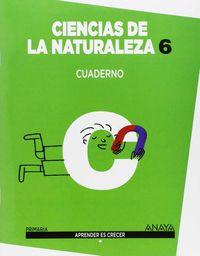 Cuaderno ciencias naturaleza 6ºep madrid 15