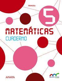 Cuaderno matematicas 5ºep andalucia 15