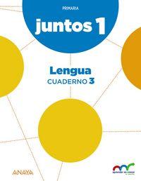Cuaderno lengua 3 1ºep andal/c.leon 15 aprender e.