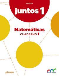 Cuaderno matematicas 1 1ºep andal/c.leon 15 apren.