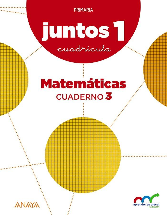 Cuaderno matematicas 3 1ºep cuadr.15 andal/c.leon