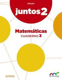 Cuaderno matematicas 3 2ºep andal/c.leon 15 apren.