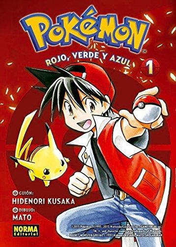 Pokemon 1 rojo verde y azul