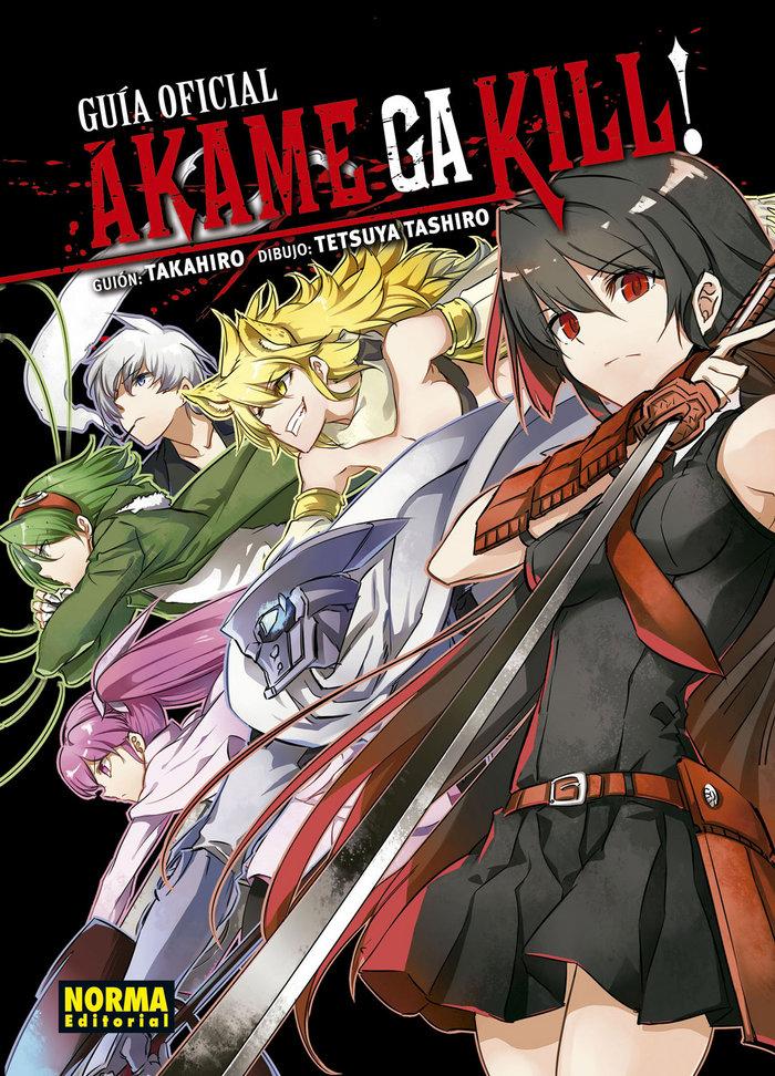 Akame ga kill guia oficial