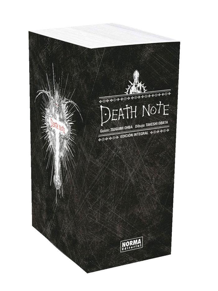 Death note integral un tomo en rustica con estuche