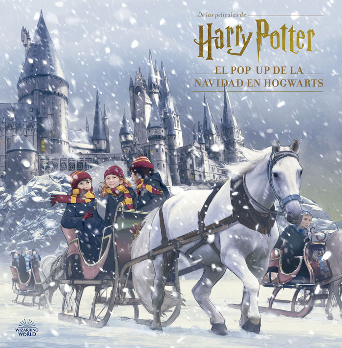 Harry potter el pop up de la navidad en hogwarts