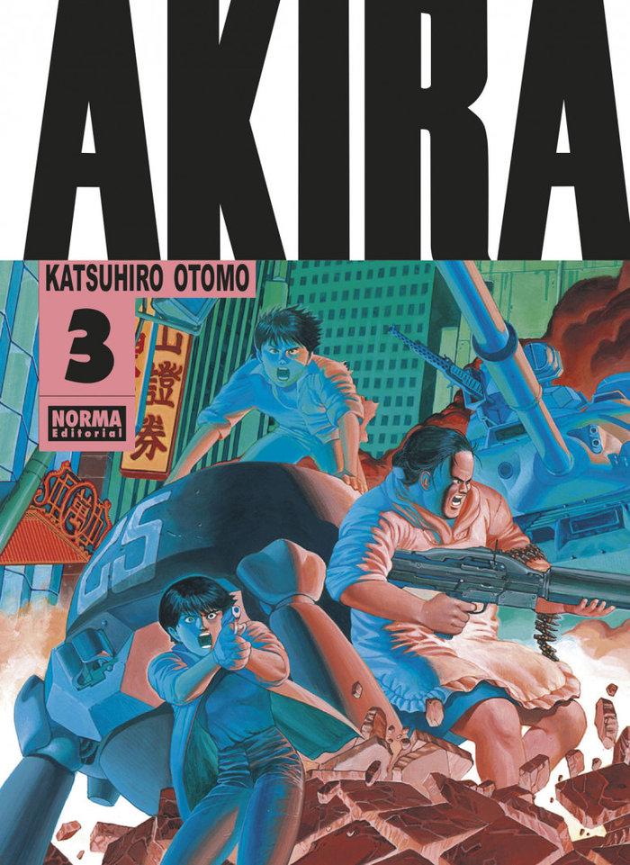 Akira 3 edicion original b/n