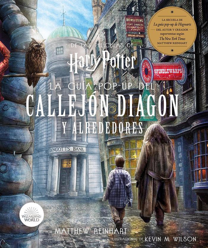 Harry potter la guia pop up del callejo diagon y alrededore