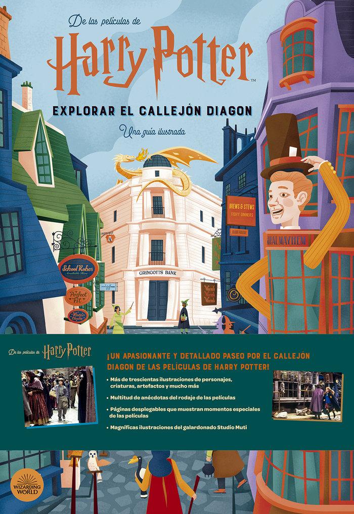 Harry potter explorar el callejon diagon una guia ilustrada