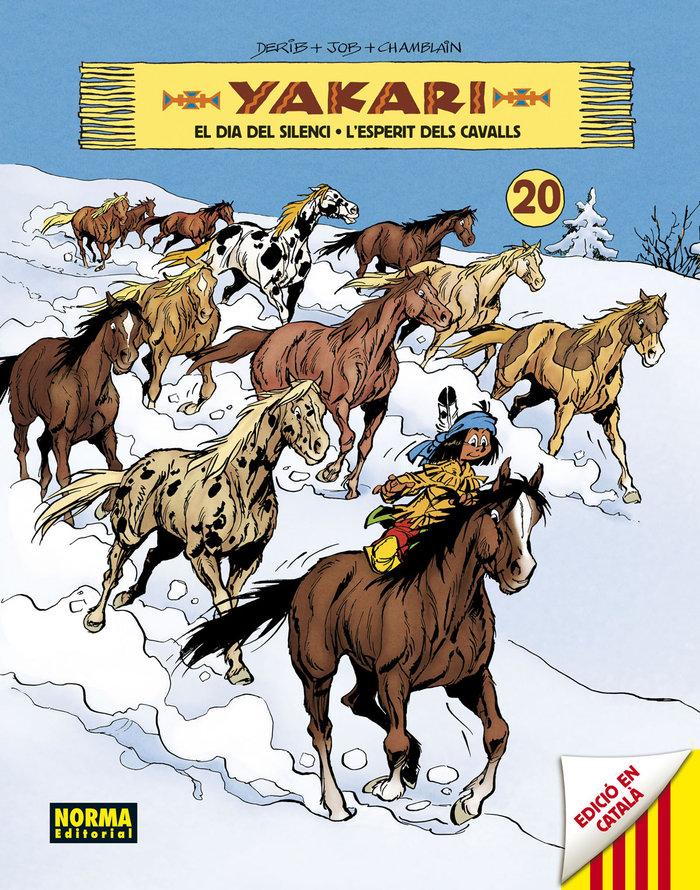 Yakari 20 el dia del silenci lesperit dels cavalls