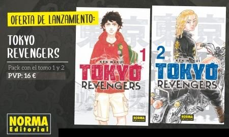 Tokyo revengers 1 2 pack promocional