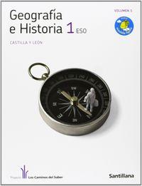 Geografia historia 1ºeso trim.c.leon 11 caminos s.