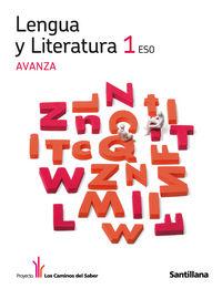 Lengua literatura 1ºeso avanza 11 caminos saber