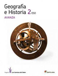 Geografia e historia 2ºeso avanza 12 adap.curric.