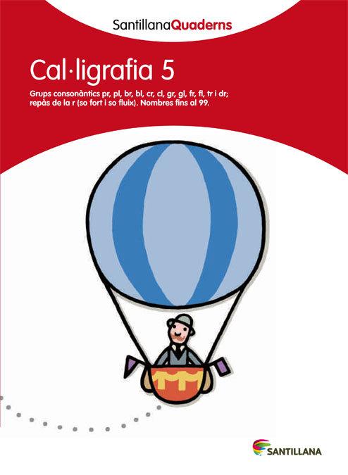 Quadern caligrafia pauta 5 cataluña 12