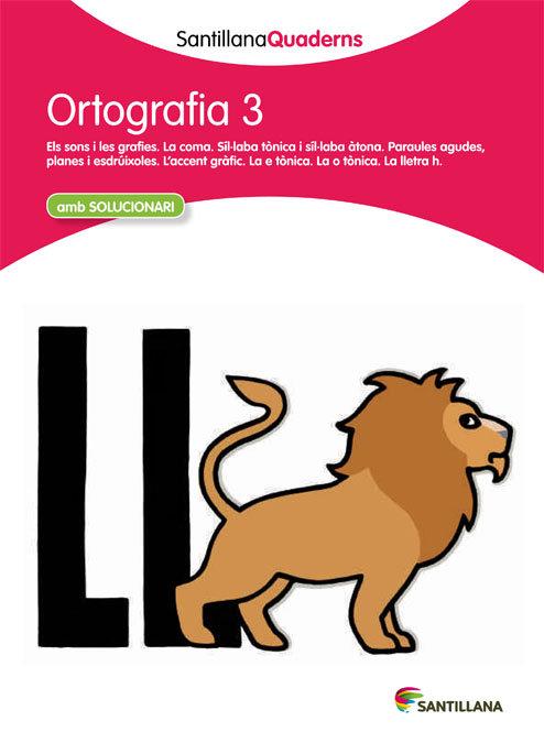 Quadern ortografia 3 cataluña 12