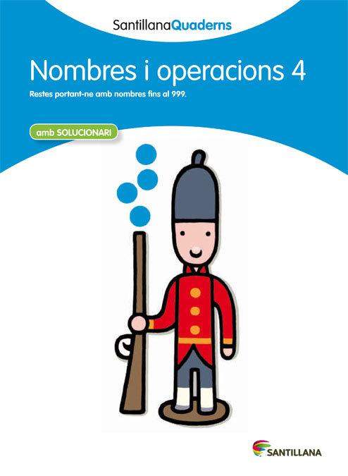 Quadern nombres i operacions 4 cataluña 12