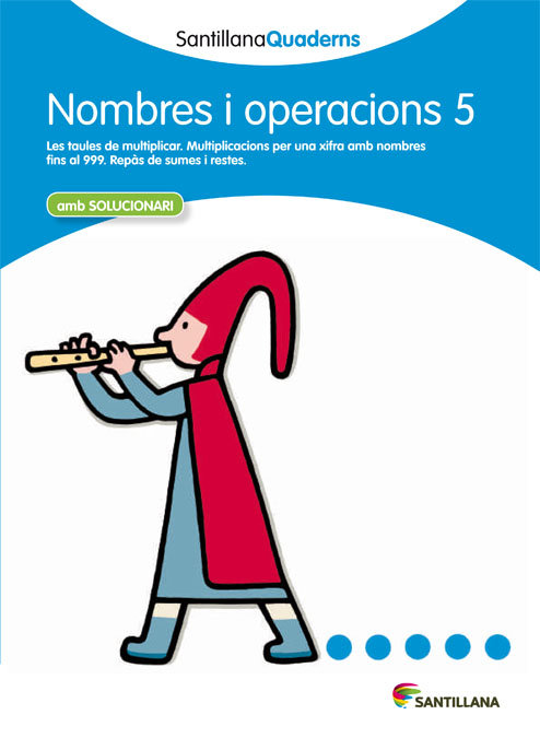 Quadern nombres i operacions 5 cataluña 12