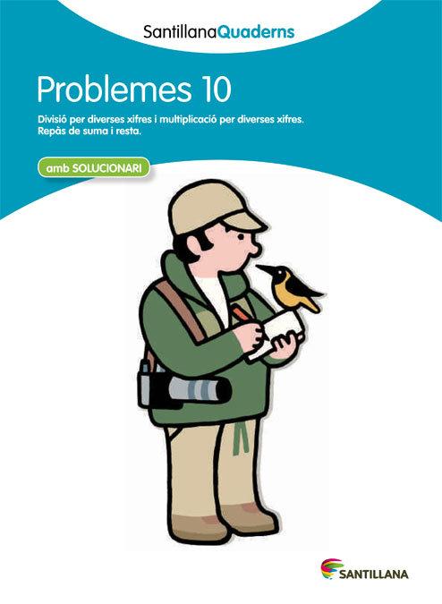 Quadern problemes matematiques 10 cataluña 12