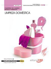 Cuaderno limpieza domestica
