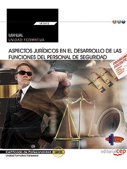 Manual. aspectos juridicos en el desarrollo de las funciones