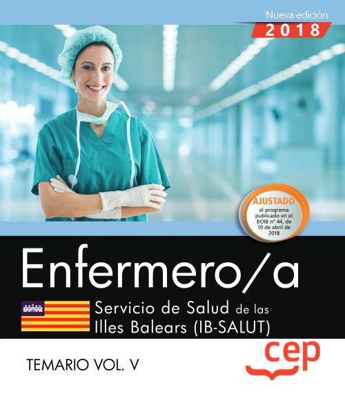 Enfermero/a. servicio de salud de las illes balears (ib-salu