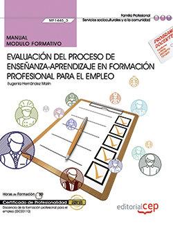 Manual. evaluacion del proceso de enseñanza-aprendizaje en f