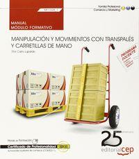 Manual manipulacion y movimientos con transpales y carreti