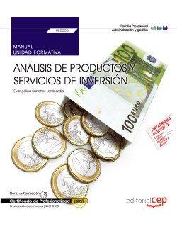 Manual analisis de productos y servicios de inversion