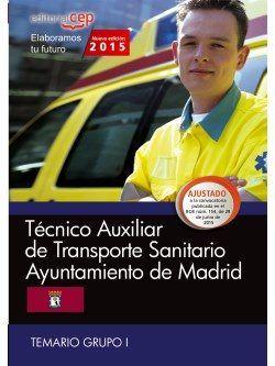Tecnico auxiliar de transporte sanitario. ayuntamiento de ma