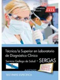 Tecnico/a superior laboratorio diagnostico clinico
