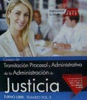 Cuerpo de tramitacion procesal y administrativa de la admini