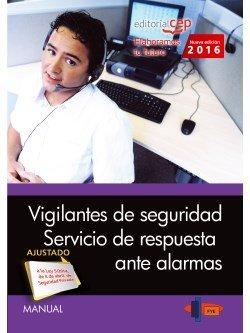 Manual. vigilantes de seguridad. servicio de respuesta ante