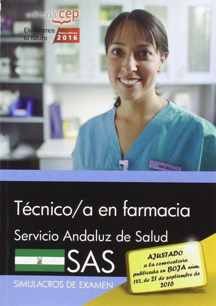 Tecnico farmacia servicio andaluz salud sas simulacro exame