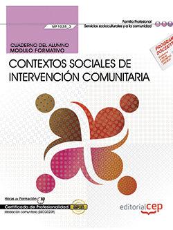 Cuaderno del alumno. contextos sociales de intervencion comu