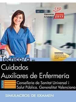 Tecnico/a en cuidados auxiliares de enfermeria. conselleria