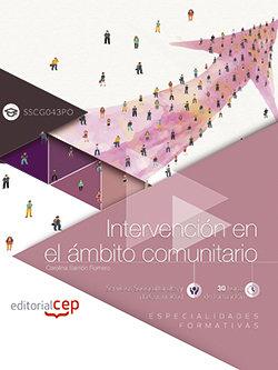 Intervencion en el ambito comunitario (sscg043po). especiali