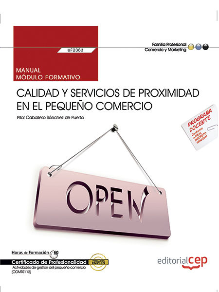 Manual. calidad y servicios de proximidad en el pequeño come
